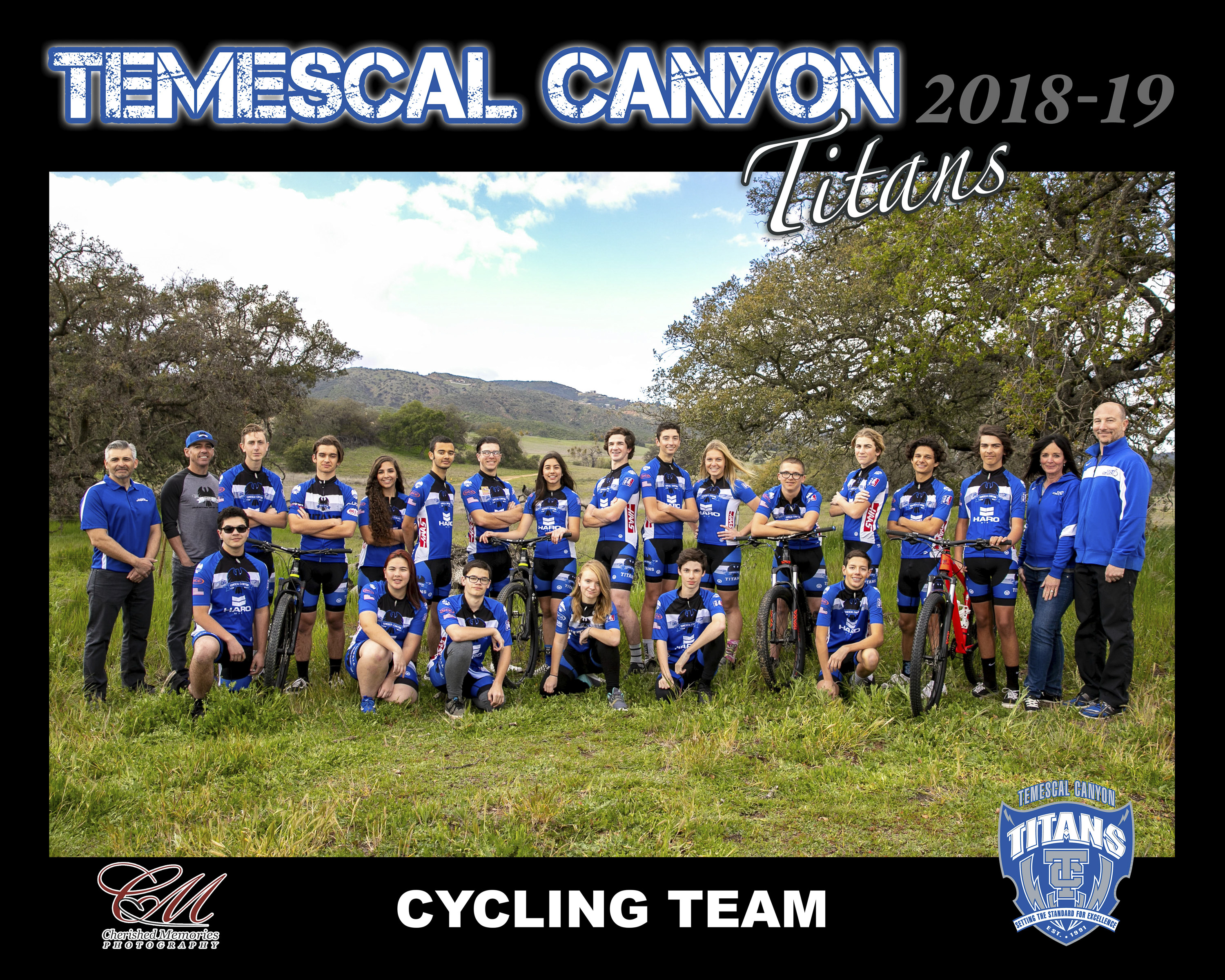 16x20 Cycling team